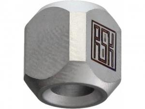 Real Steel Titanium Lanyard Column Bead