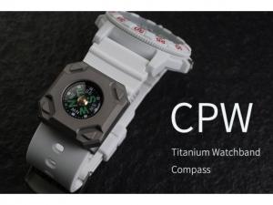 Mecarmy CPW Uhrenband Kompass (Titan)