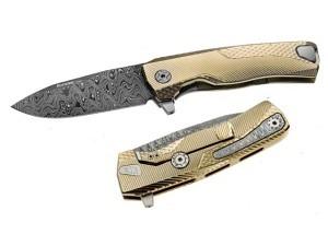 Lion Steel ROK Titanium Premium Folder..