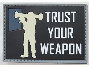 RAIDOPS Morale Patch Trust your Weapon