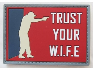 RAIDOPS Morale Patch Trust your W.I.F.E