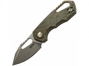 MKM Knives Isonzo EDC Folder (Green)