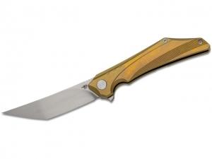 Bestech Knives Kamoza Framelock Gold A..