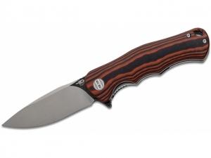 Bestech Knives Bobcat (Schwarz / rot G..