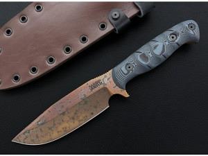Dawson Custom Knives Big Bear Copper F..