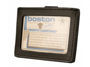Boston Leather ID Halter