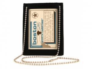 Boston Leather ID Halter mit Halskette