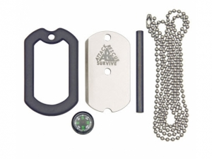 Dog Tag Survival Knife Kit