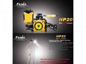 FENIX HP20 Stirnlampe der Superlative