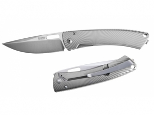 Lion Steel TS-1 TiSpine Gunmetal