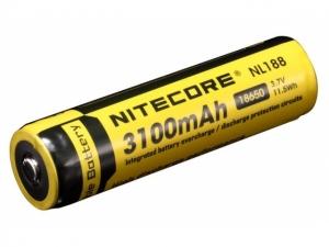 Nitecore 18650 3100mAh Ionen Akku