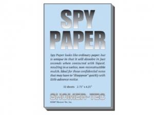Shomer-Tec Spy Paper