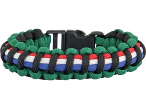 Knotty Boys Survival Armband Fire