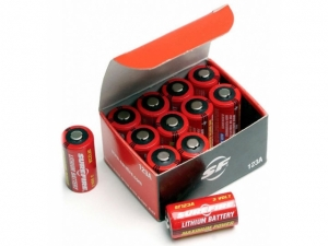 Sure-Fire CR123 12er Batterie Set