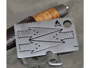 Bushcraft Essential Pfeilkarte