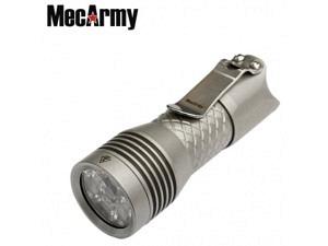 Mecarmy PS16 Miniaturtaschenlampe 2000 Lumen (Stahlgehäuse)