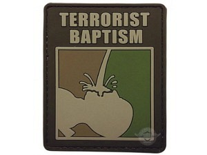 5Star Terrorist Baptism Patch