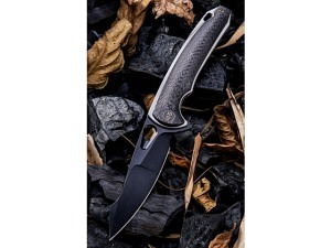 We Knife Yucha Premium EDC Folder (Black Stonewash)