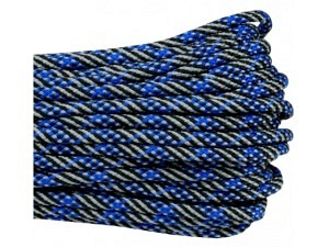 Fallschirmleine/Paracord 30m (Thin Blue Line)