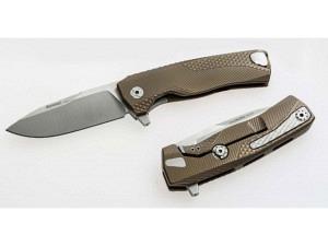 Lion Steel ROK Titanium Premium Folder (Bronze Finish)