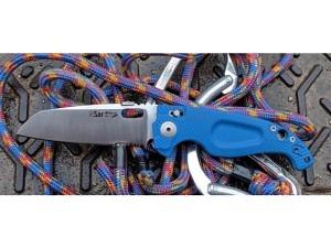 Antonini SAR Reset High Tech Rettunmgsklappmesser (Blue)