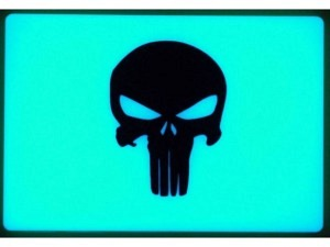 TEC Accessoires Embrite Beacon Morale Patch Punisher (Aqua)