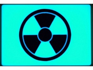 TEC Accessoires Embrite Beacon Morale Patch Radioactive (Aqua)