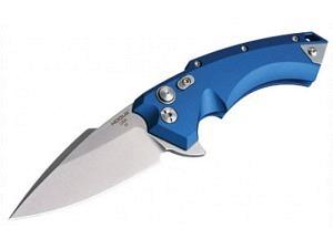 "Hogue Knives / Polizeibedarf X5 3.5"" Spear Point (Satin Blue)"