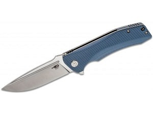 Bestech Knives Mako Linerlock Blue-Gray