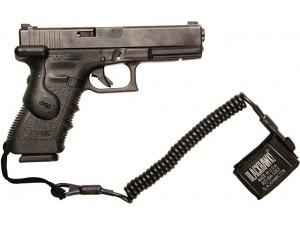 Blackhawk Spiralkabel für Handfeuerwaffen (Lanyard)
