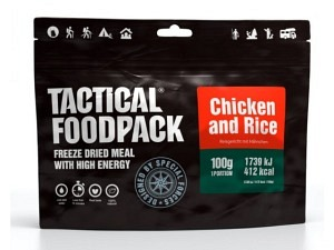 Tactical Foodpack Reisgericht mit Hähnchen (412 Kcal)