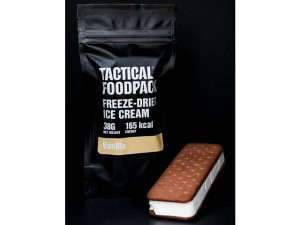 Tactical Foodpack Freeze-Dried Ice Cream Vanilla (165 kcal)