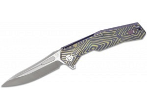 Artisan Cutlery Zumwalt Premium Folder (Tigerstripe)