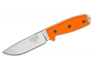ESEE Model 4 Ueberlebensmesser (CPM-S35VN)(Orange Micarta)