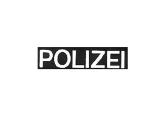 COP Reflexfolie 'POLIZEI' mit Klett
