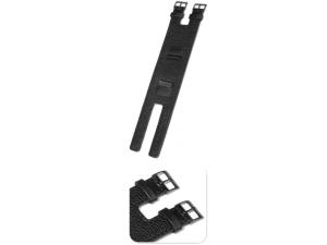 KHS Ersatzband/Kraftband Leder (Dornschliesse/Stahl)