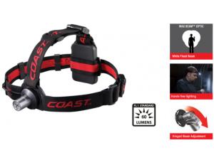 Coast HL3 Hochleistungs Stirnlampe