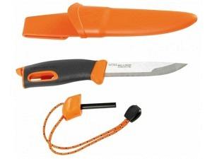 Light my Fire Survival Messer mit Feuerstahl (Orange)