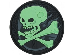 Maxpedition Skull (selbstleuchtend) Morale Patch