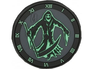 Maxpedition Grim Reaper (selbstleuchtend) Morale Patch