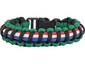 Knotty Boys Survival Armband Afghanistan