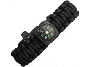 Explorer Survival Kompass Paracord Armband