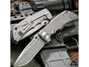 Spartan Blades Harsey Premium EDC Folder Stonewash