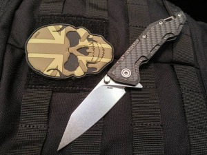 RAIDOPS K071 Mini Centauro Carbon Premium EDC Folder